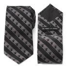 The Child Charcoal Stripe Men's Tie