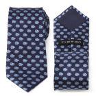 Millennium Falcon Blue Tonal Mens Tie