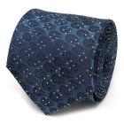 Millennium Falcon Dot Blue Men's Tie