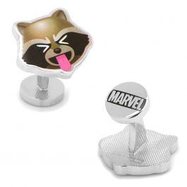 ROCKET RACCOON FACE LAPEL PIN BADGE OFFICIAL GUARDIANS OF THE GALAXY NEW