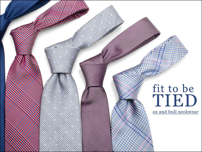 Tie one on